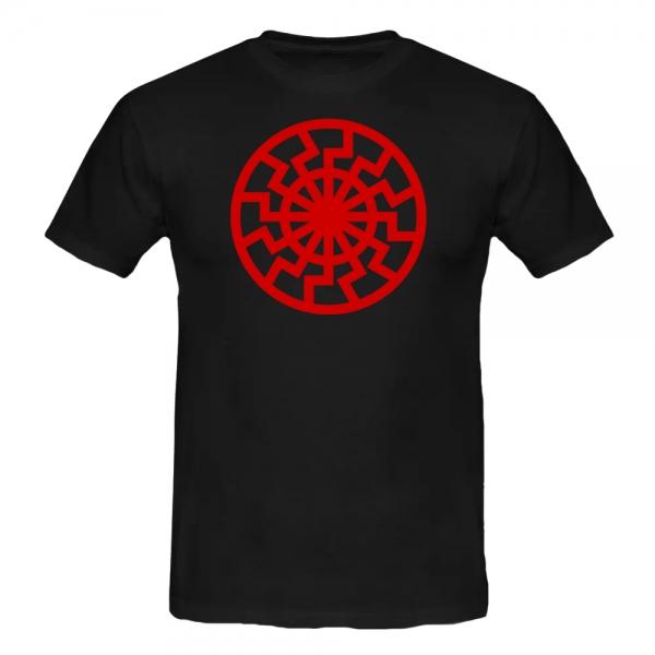 SCHWARZE SONNE T-Shirt schwarz