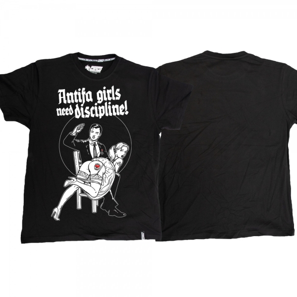 Antifa Girls - schwarz TS