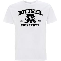 ROTTWEIL T-Shirt weiß