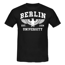 BERLIN T-Shirt schwarz
