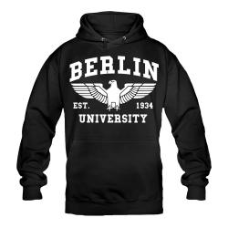 BERLIN Hoody schwarz