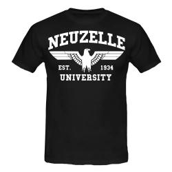 NEUZELLE T-Shirt schwarz