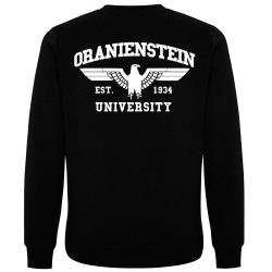 ORANIENSTEIN Pullover schwarz