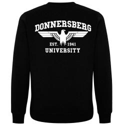 DONNERSBERG Pullover schwarz