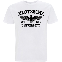KLOTZSCHE T-Shirt weiß