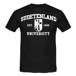 SUDETENLAND T-Shirt schwarz