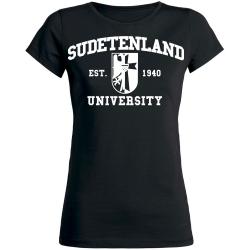 SUDETENLAND Girly  schwarz
