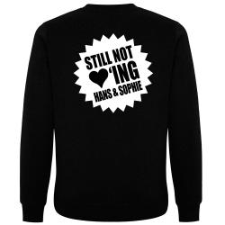 STILL NOT LOVING HANS & SOPHIE Pullover schwarz