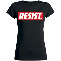 RESIST Girly  schwarz