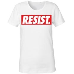 RESIST Girly  weiß