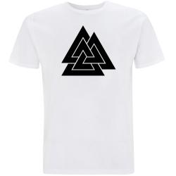 VALKNUT T-Shirt weiß