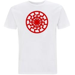 SCHWARZE SONNE T-Shirt weiß