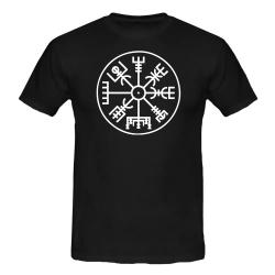 NORDISCHER KOMPASS T-Shirt schwarz