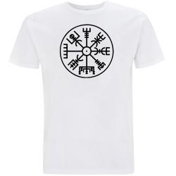 NORDISCHER KOMPASS T-Shirt weiß
