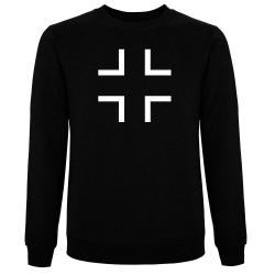 BALKENKREUZ Pullover schwarz