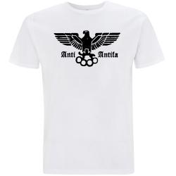 ANTI-ANTIFA T-Shirt weiß