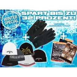 Winterpaket: Handschuhe + Mütze + Bandana/Loop-Schal Eurer Wahl