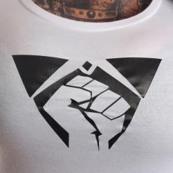 T-Shirt Fist weiß Girly