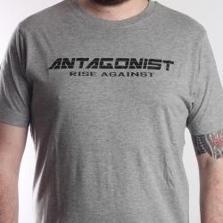 T-Shirt Antagonist grau