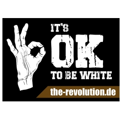 It's OK to be White (50 Stück)